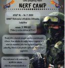 Co byste řekli na NERF tábor?